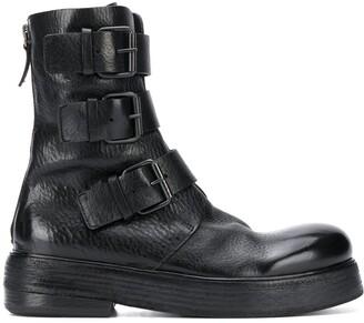 Marsèll Triple Buckle Boots