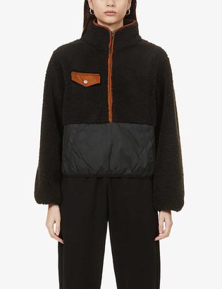 Frame High-neck fleece jacket