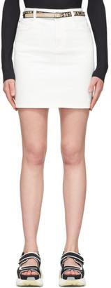 Stella McCartney White Denim Miniskirt