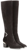 Nicholas Kirkwood Brannagh Suede Knee-high Boots