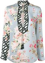 Amen floral print blouse