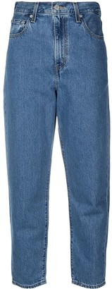 Levi's Cropped Straight Leg Jeans