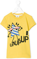Fendi star print T-shirt - kids - Cotton - 3 yrs