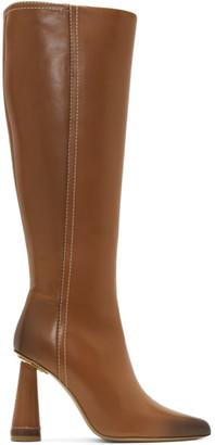 Jacquemus Tan Les Bottes Leon Hautes Boots