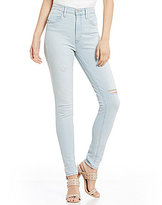 Levi's Destructed Mile High Super Skinny Jeans