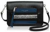 Marc Jacobs Madison Medium Embellished Saffiano Leather Shoulder Bag