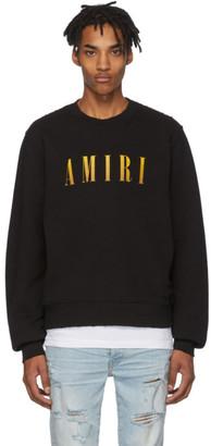 Amiri Black Logo Core Sweatshirt