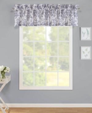 Laura Ashley Annalise Floral Shadow Grey Window Valance Bedding