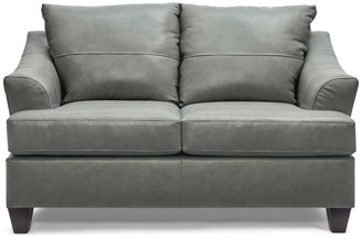 United Furniture Industries 2063-02 Soft Touch Loveseat, Silver