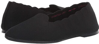Skechers Cleo (Black) Women's Shoes