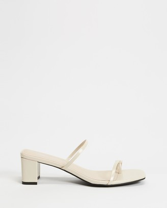 Sol Sana Women's Neutrals Mid-low heels - Kenny Mules - Size 37 at The Iconic