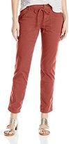 UNIONBAY Women's Mina Porkchop Pocket Stretch Ankle Pant