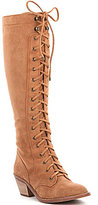 Gianni Bini Rhodi Lace-Up Tall Shaft Boots