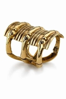 Low Luv by Erin Wasson Snake Hinged Cuff in Gold