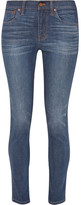 Madewell High-rise Skinny Jeans - Mid denim