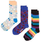 Happy Socks Paisley & Dots Socks (3 PK)