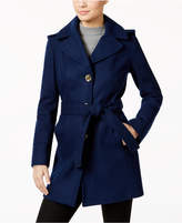 MICHAEL Michael Kors Wool-Blend Hooded Walker Coat