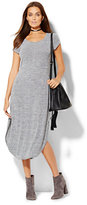 New York & Co. Shirttail T-Shirt Dress