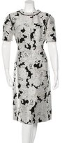 Derek Lam Jacquard A-Line Dress
