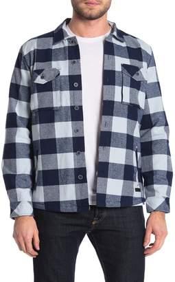 Civil Society Hayes Plaid Print Shirt Jacket