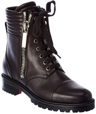Christian Louboutin En Hiver Leather Boot