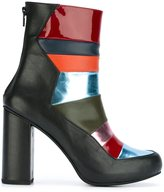 House of Holland panelled ankle boots