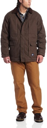 Key Apparel Men's Big-Tall Heavy Insulated Fleece Lined Duck Chore Coat