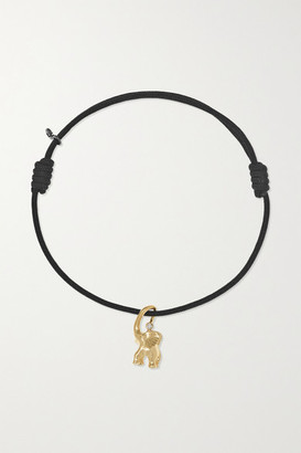 OLE LYNGGAARD COPENHAGEN My Little World 18-karat Gold And Rope Diamond Bracelet
