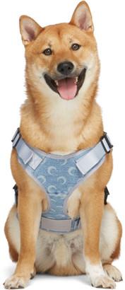 Marine Serre SSENSE Exclusive Blue Upcycled Denim Dog Harness