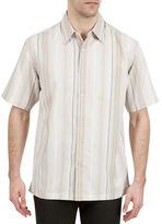 Haggar Microfiber Stripe Shirt