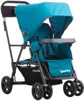 Joovy Caboose Ultralight Graphite Stroller - Turq