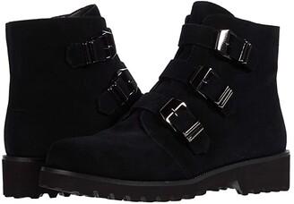 VANELi Zemira Waterproof (Black Suede/Black Nappa) Women's Boots