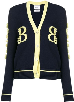 Barrie Cashmere Two-Tone Cardigan