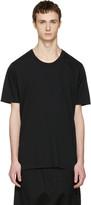 Nude:mm Black Cotton T-shirt