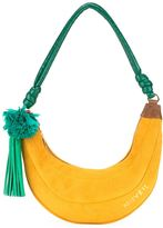 Muveil banana motif shoulder bag