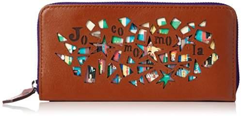Jocomomola (ホコモモラ) - [ホコモモラ] 長財布 「マヒア」ラウンドファスナー型長財布 5381302 34 オレンジ