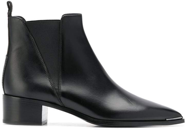 f399104299a Jensen leather Chelsea boots