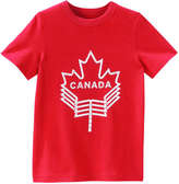 Joe Fresh Kid Boys' Canada Tee, Red (Size M)