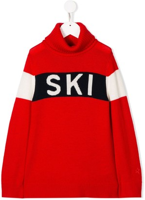 Perfect Moment Kids Ski turtleneck jumper