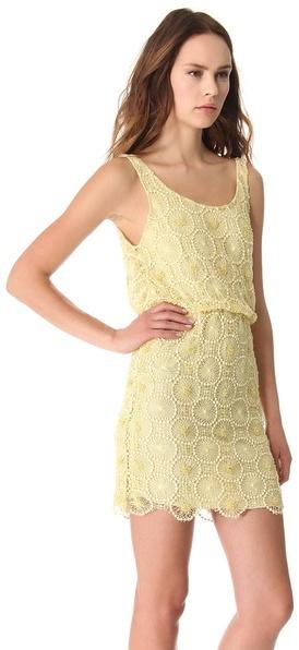 Alice + Olivia Beaded Blouson Dress