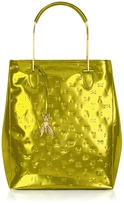 Patrizia Pepe Laminated Leather Signature Tote