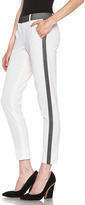 Vince Organza Strapping Trouser in Ivory