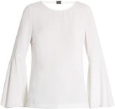Elizabeth and James Raleigh fluted-sleeve top