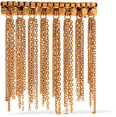 Erickson Beamon Barrette Fringed Gold-plated Hairclip - One size