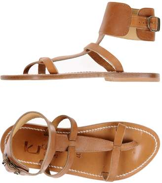 K Jacques St Tropez K.JACQUES ST. TROPEZ Toe strap sandals - Item 11330490PW