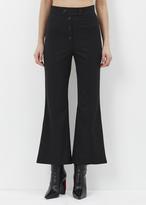 Proenza Schouler black flared pant