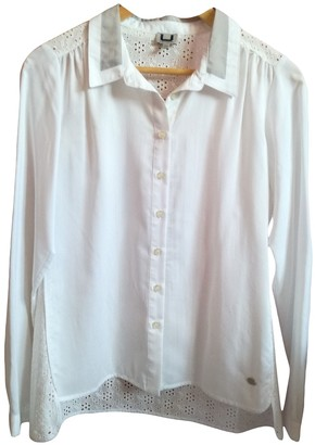 Adolfo Dominguez White Cotton Top for Women