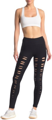 90 Degree By Reflex Missy Front Vent Leggings