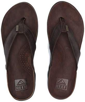 Reef Men's Sandals J-Bay III | Premium Full Grain Mens Leather Sandals for Instant Comfort