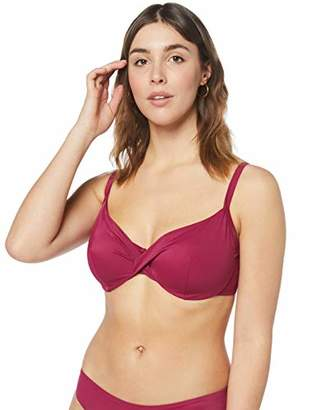 Iris & Lilly Women's SH190842 bikini tops for women,(Manufacturer Size:90F)